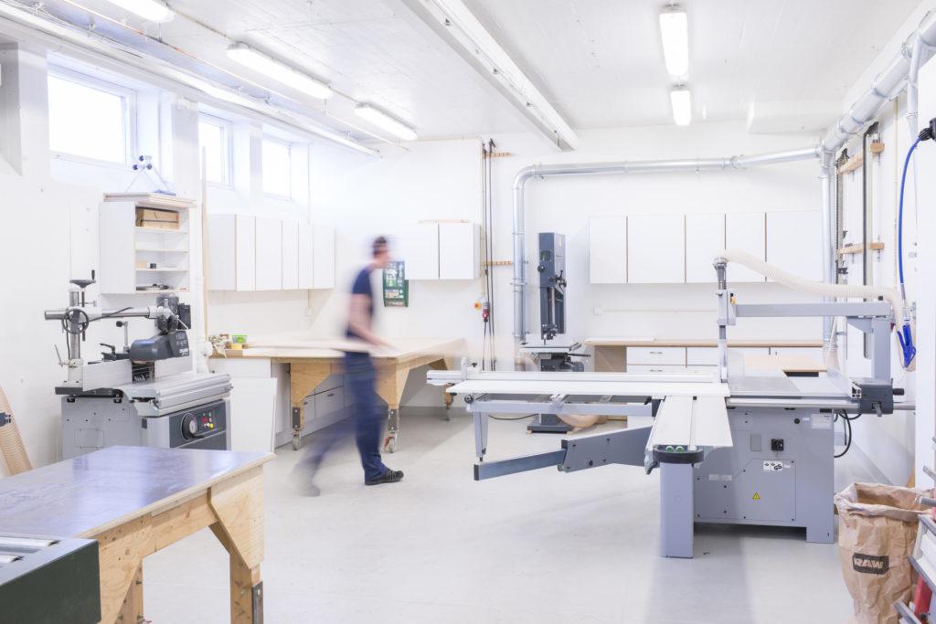 Lokalanpassning byggentreprenad. H. Aronsson Byggnads AB.