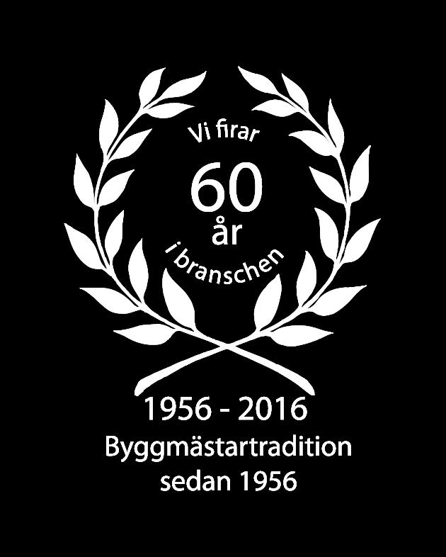 Krans - Vi firar 60 år i branschen.